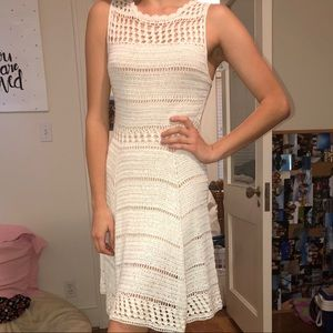 Alice and Olivia Crochet Cocktail Dress